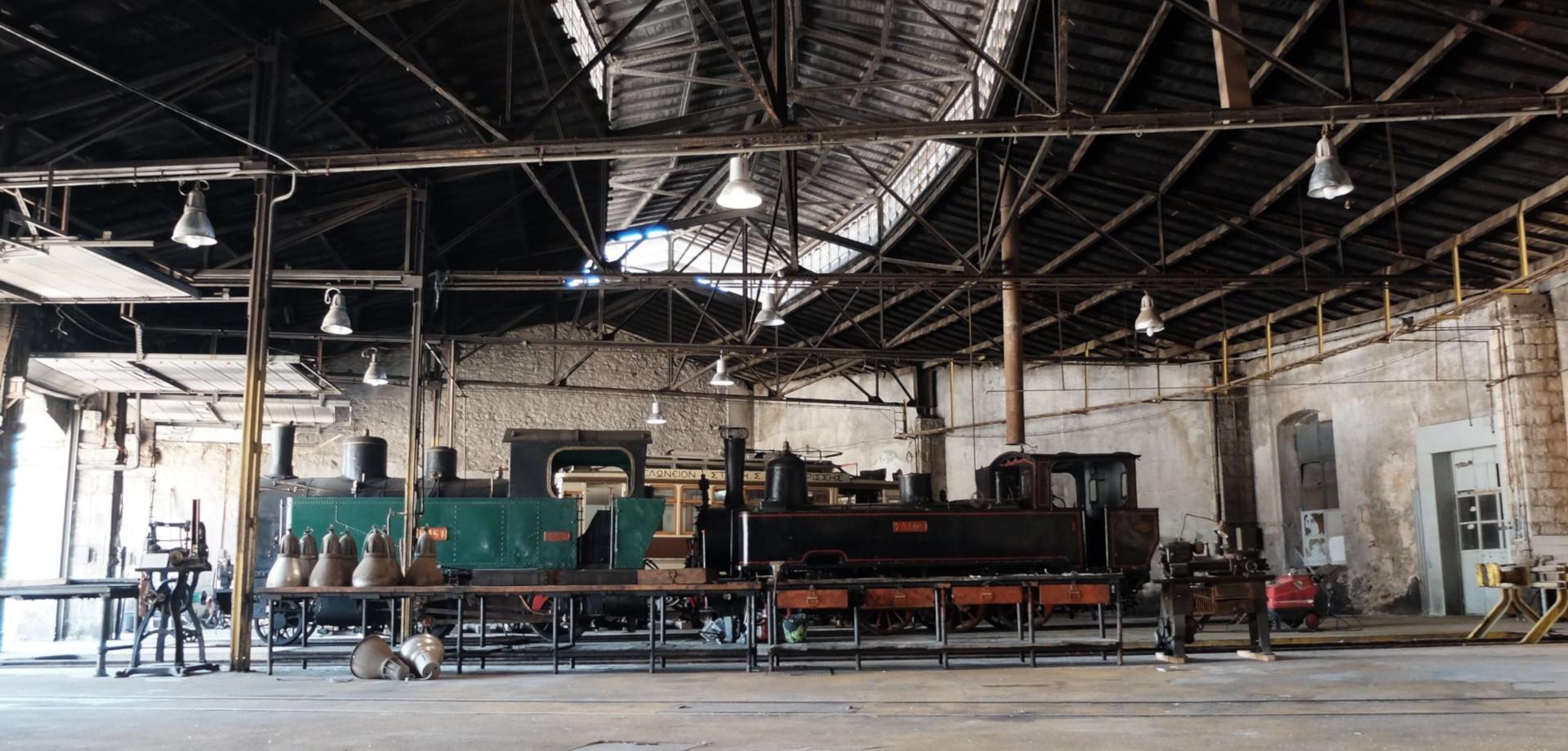 Nέο Σιδηροδρομικό Μουσείο Πειραιά