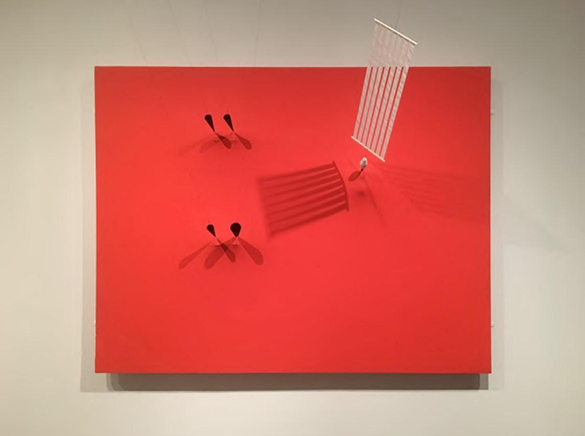 Takis: Magnetic Wall (1961), Centre Pompidou, Paris.