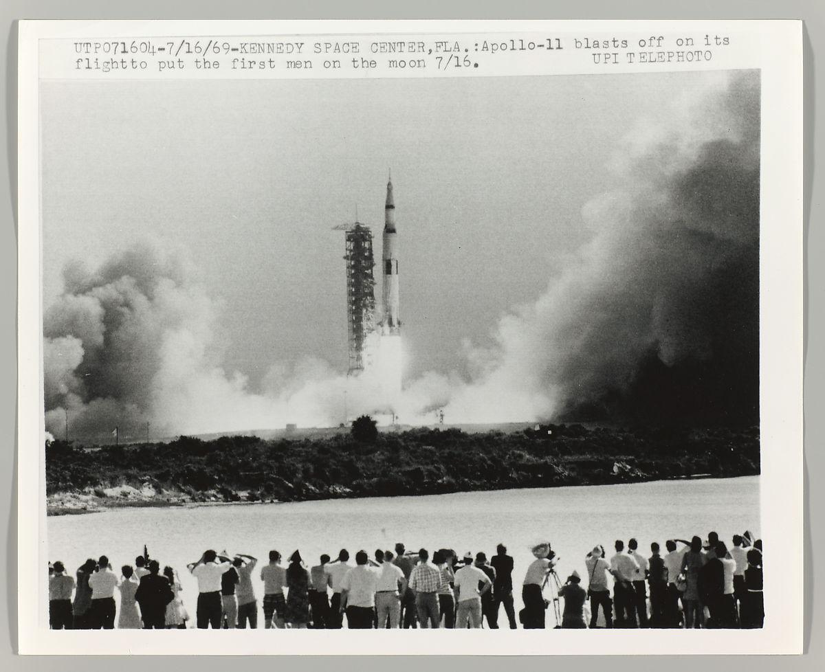 Apollo 11 Blast-Off , Kennedy Space Center, Florida,1969 United Press International