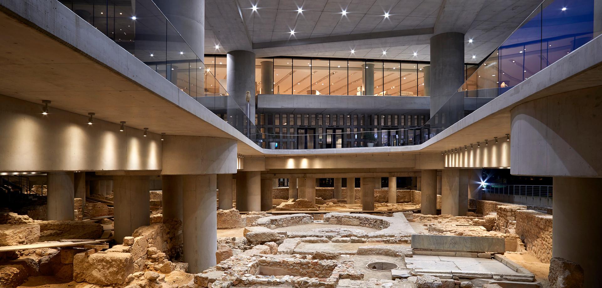 Νέες παρουσιάσεις αρχαιολογικής ανασκαφής Μουσείου Ακρόπολης