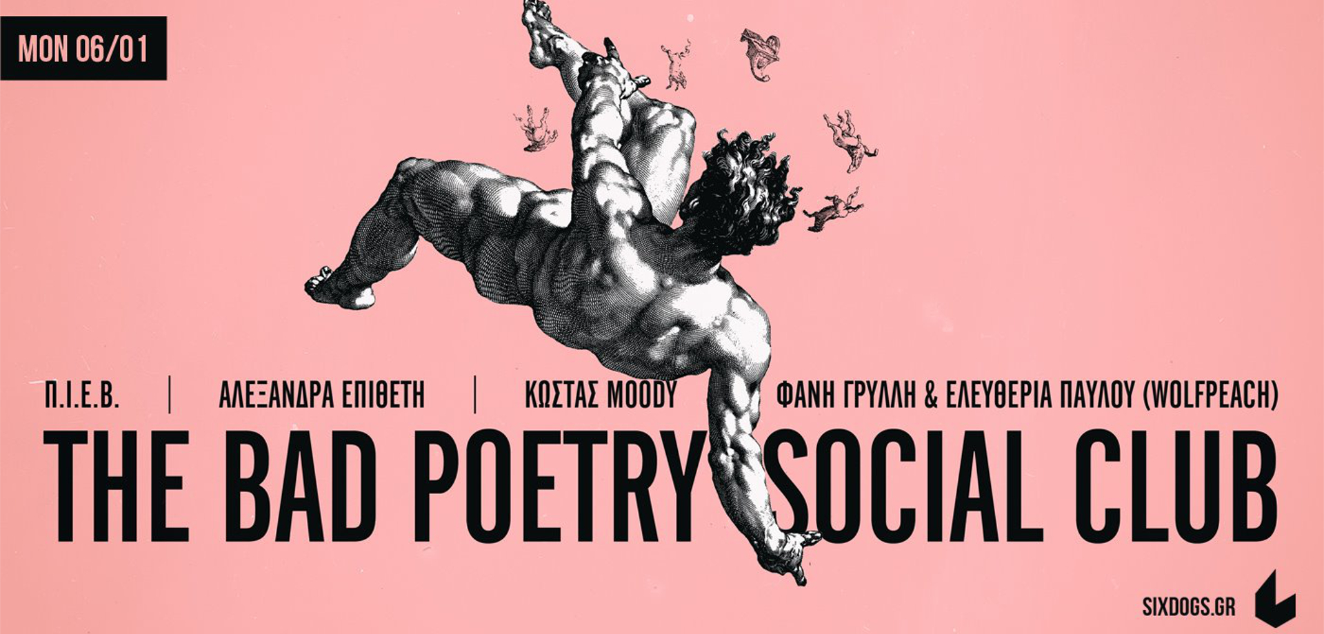 The Bad Poetry Social Club six d.o.g.s