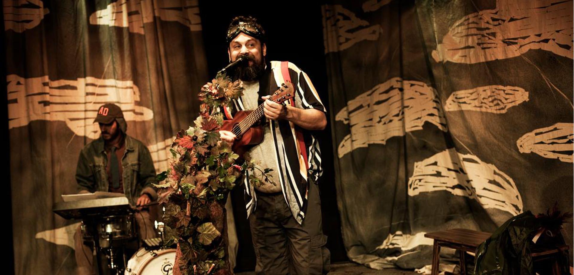 Σπύρος Γραμμένος Θέατρο 104