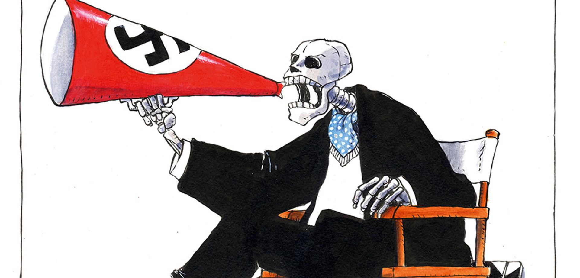 «Βάλ'τους Χ»: Μία έκθεση με σκίτσα που αποτυπώνουν περιστατικά ρατσιστικής βίας