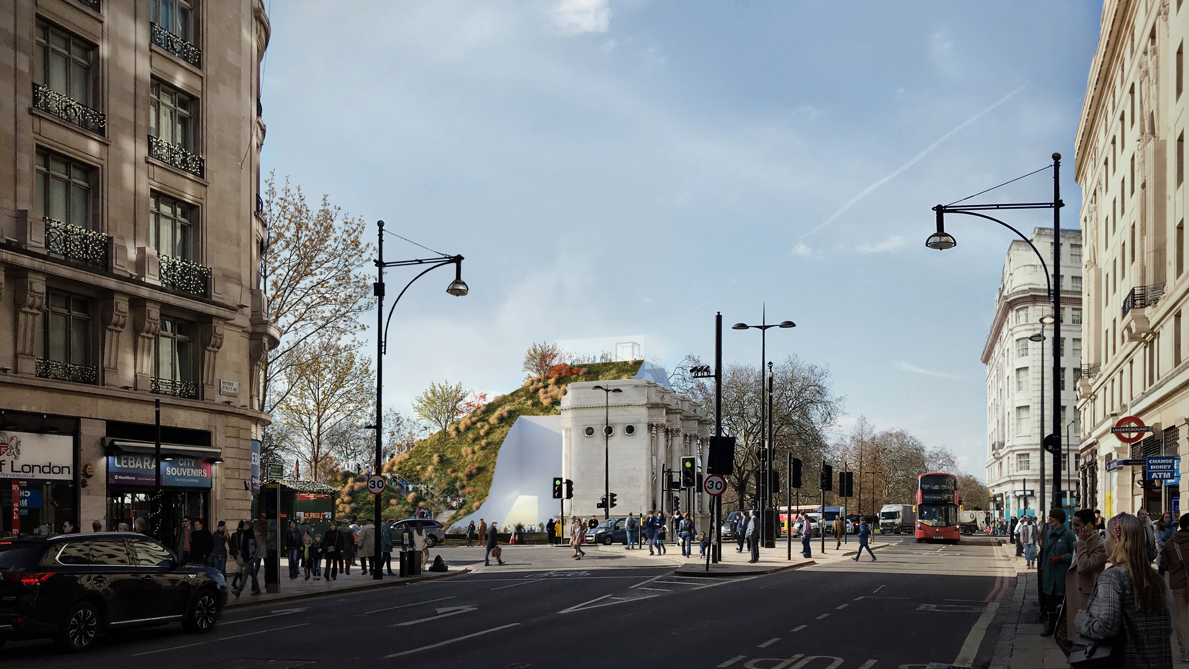 Marble Arch του Λονδίνου