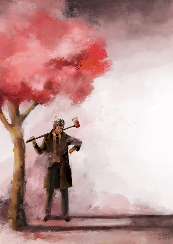(Somewhere) beyond the cherry trees